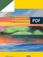 Development&Application Ecologica Networks UICN