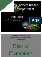2010-2011 a Banner Year