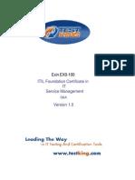 ITIL Testking