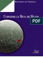 Metas  del Milenio en Venezuela