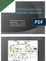 Flowchart Pengolahan Bijih Di Pt Freeport Indonesia