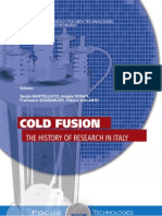 Cold Fusion - The History of Research in Italy