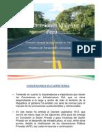 Las Concesiones Viales en el Perú
