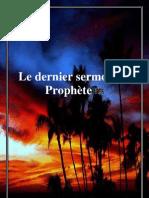 Le Dernier Sermon Du Prophete