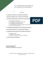 Paliativos-Dimensión epiritual y religiosa- 2010