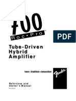 Roc Pro 700 Manual