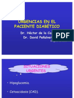 Urgencias en el Paciente Diabético