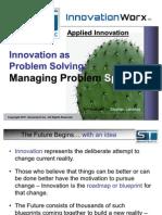 Innovation as Problem Solving