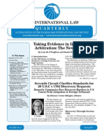 International Law Quarterly Spring 2011 Issue