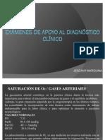 EXÁMENES DE APOYO AL DIAGNÓSTICO CLÍNICO