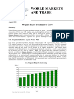 World Markets Trade Organics 2008