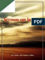 Sermon Sur La Piete