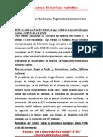 Resumen de Noticias Matutino 22-06-2011