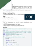 Csharp Serialization