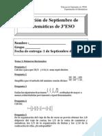Relacion de Septiembre 2010-11 3ºESO