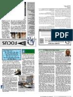 In FOCUS Newsletter - December 2010