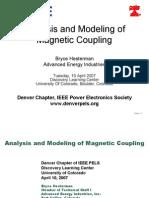 Denver PELS 20070410 Hesterman Magnetic Coupling
