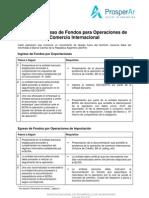 Guía de Trámites - Ingreso y Egresos de Fondos VF - Octubre 2008