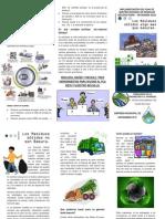 FOLLETO  - Los Residuos Sólidos no son Basura