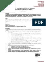 Summary - DREAM Act of 2011