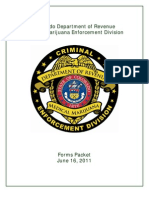 Medical Marijuana Enforcement Division Forms