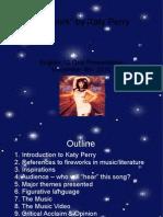 Katy Perry Presentation
