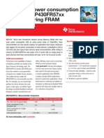 FeRAM Microcontroller Ultra-low Power Consumption | Texas Instruments