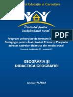 didactica geografiei