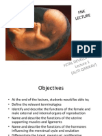 Fertilisation & Fetal Development