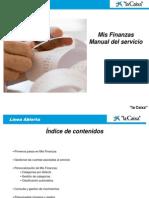 Mis Finanzas Guia de Utilizacion CAS