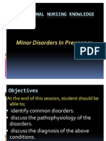 Minor Disorders