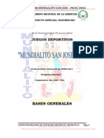 to General Mundialito San Jose 2011