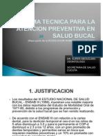 Norma Tecnica Para La Atencion Preventiva Ensalud Bucal Secret Aria