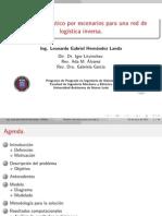 Modelo estocástico por escenarios para una red de logística inversa- Tesis presentación