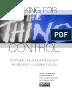 Seeking for Control - Netzwerk- und Subjektbildung im relationalen Konstruktivismus
