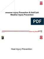 Weather Injury Prevention