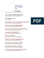 NYCLA Law & Literature Committee Reading List Aug 09 - Jan 11