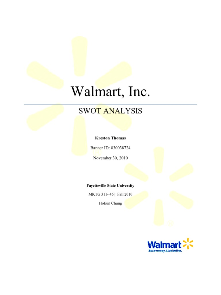 walmart analysis 2 essay