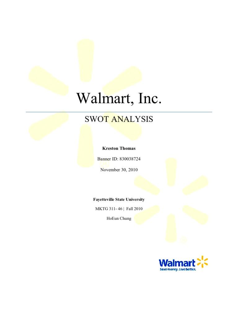Walmart SWOT Analysis | Walmart | Target Corporation