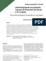 Acceso.caracteristicas.epidemio.uruguay