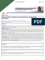 IMPACTO CONTROL CALIDAD CITOLOGIA.CHILE