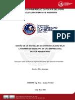 TESIS ISO22000 PUCP