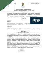 Ley Del Notariado Del Estado de Chihuahua