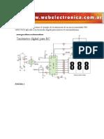 A continuación describiremos el ejemplo de la utilización de un microcontrolador PIC 16F627