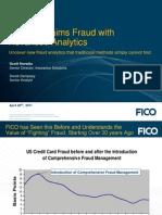 FICO Insurance Fraud Webinar April 2011