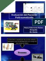 Evaluación del Paciente Politraumatizado
