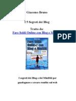 I 5 Segreti dei Blog