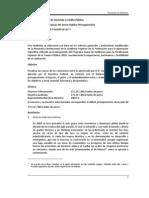 2009 Resultados de las Finanzas del Sector Público Presupuestario