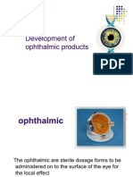 Opthalamic Products