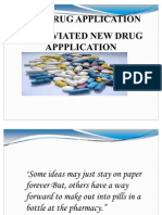 Newdrug Applications
